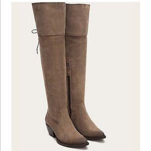 NWT 🙌 FRYE Sacha OTK Boots 👢